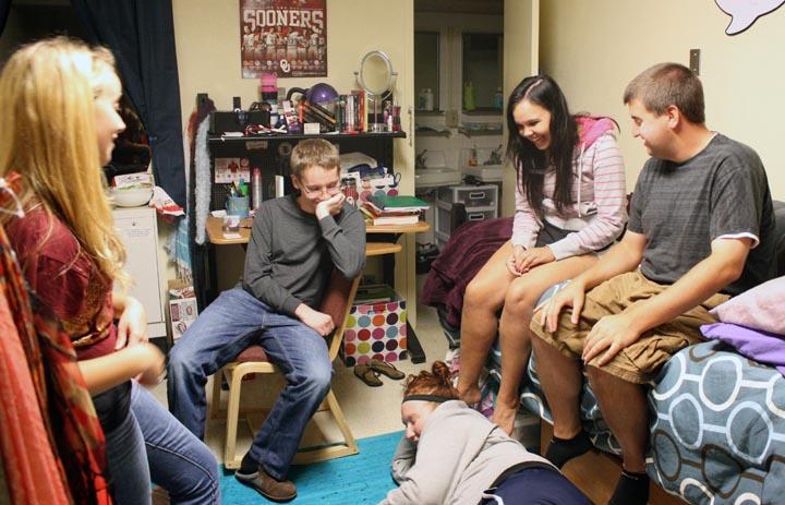 dorm rooms Coed