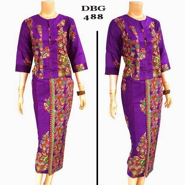 Baju Batik Muslim DBG 488