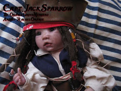"""Lea"" as Captain Jack Sparrow"