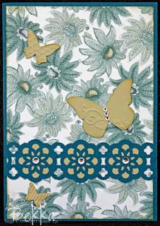 Paisley Petals Paper Card