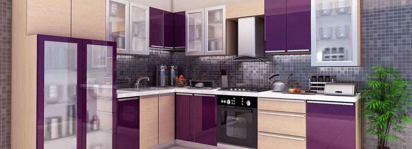 Modular kitchen hyderabad for Kitchen designs india