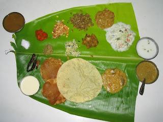 banana,banana leaf,kerala,sadhya,sadya,kerala sadya,kerala sadhya