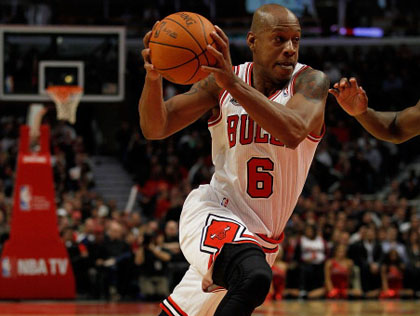 KEITH BOGANS - CHICAGO BULLS