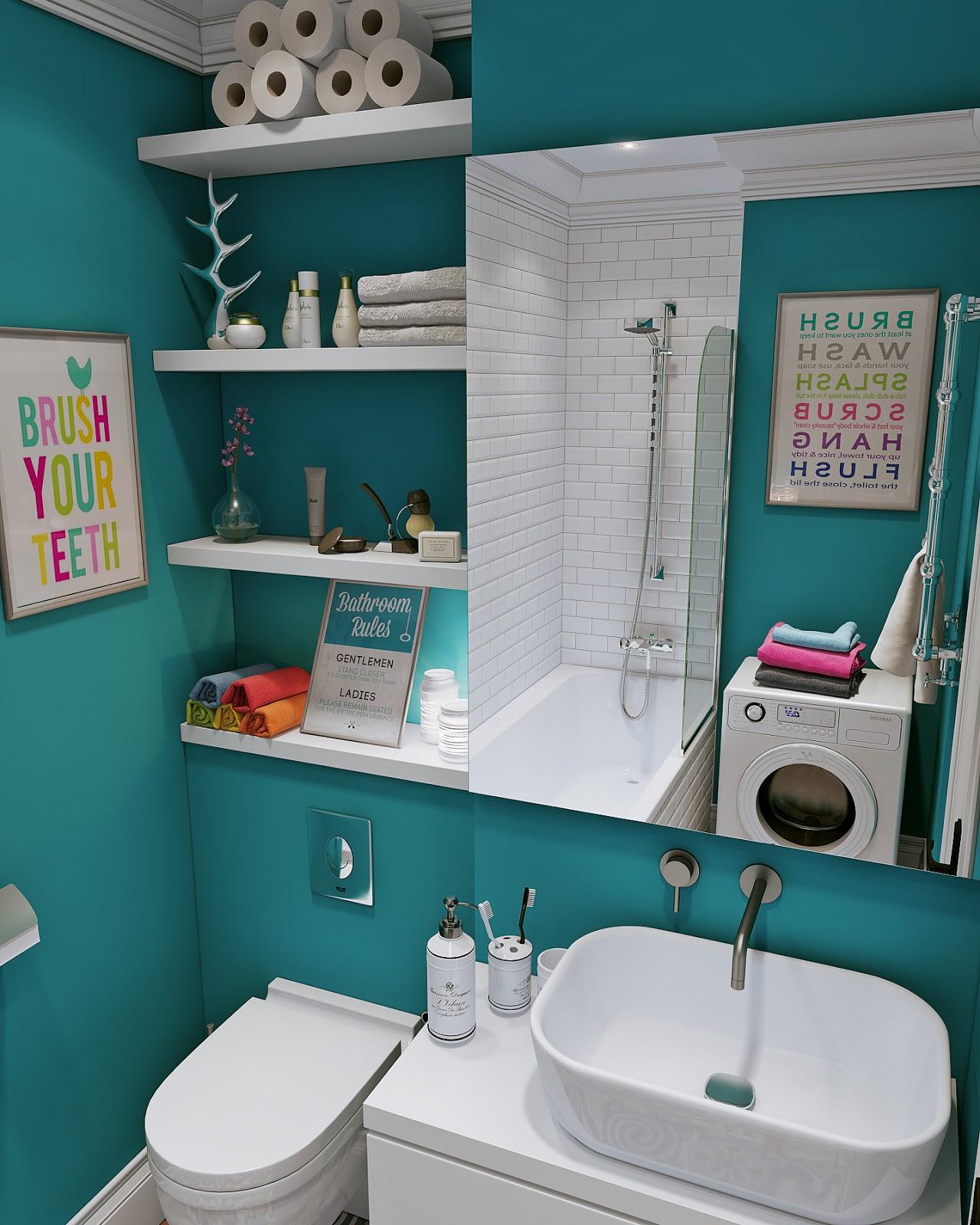 дизайн маленькой ванной 2 кв.м