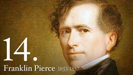 FRANKLIN PIERCE 1853-1857