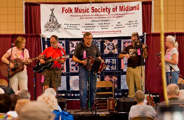 folk festival musicians