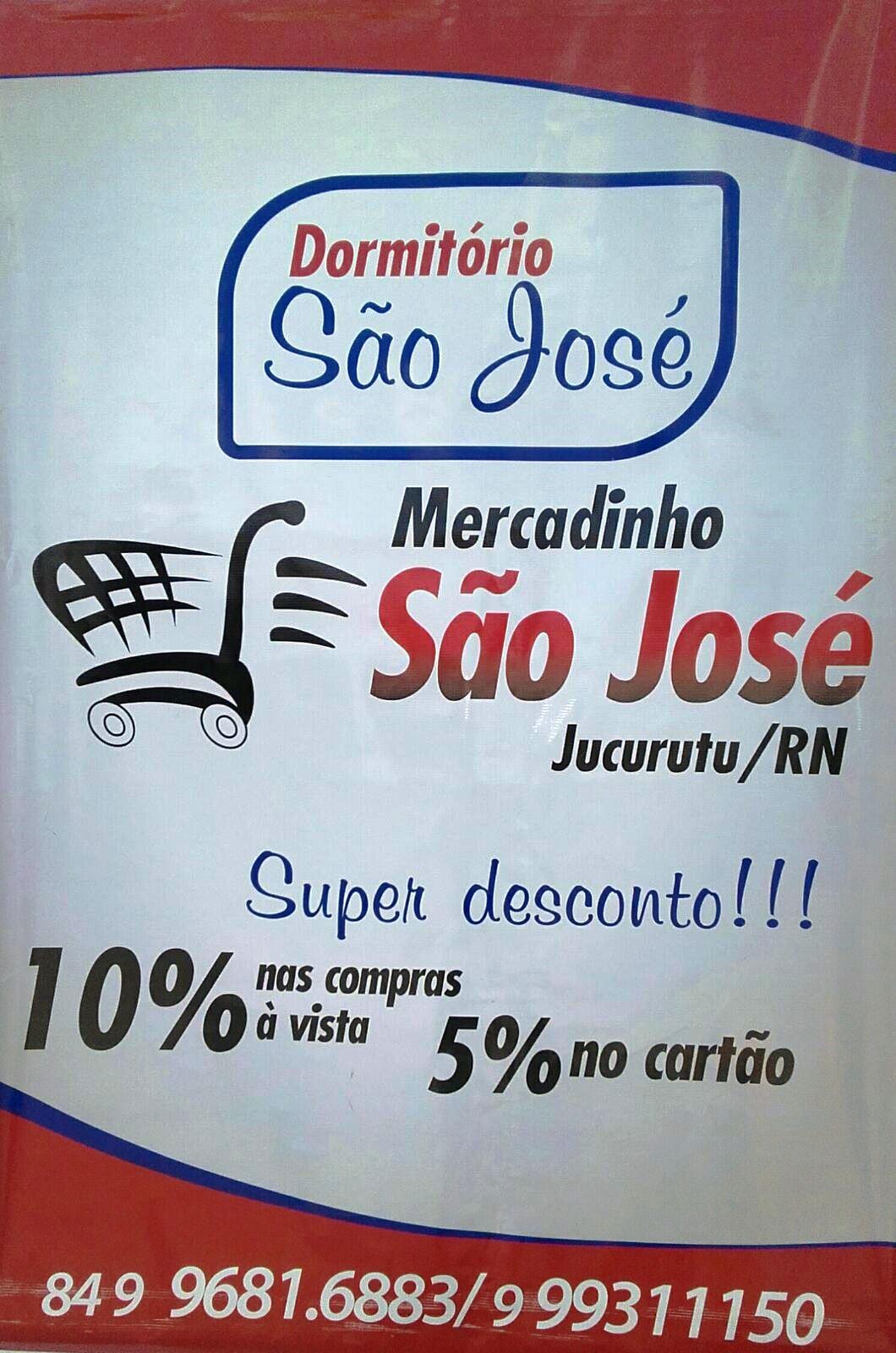 DORMITORIO E MERCADINHO SÃO JOSÉ EM JUCURUTU-RN