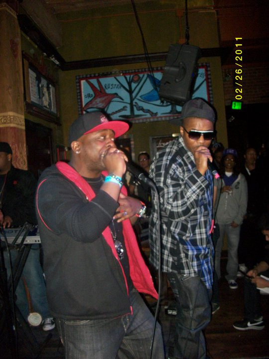 D.I.R.T. and Colby Savage rippin it up at da Dallas House of Blues.