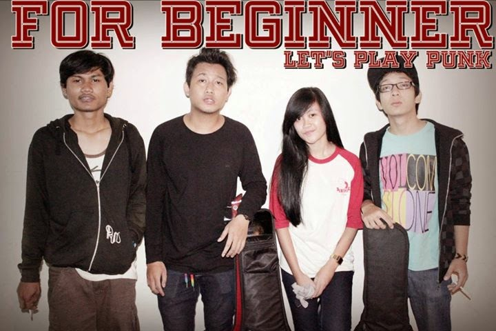 download mp3 For Beginner Band Skatepunk / Pop Punk Jakarta Vokalis Cewek Foto Personil logo artwork desktop wallpaper android facebook twitter reverbnation soundcloud