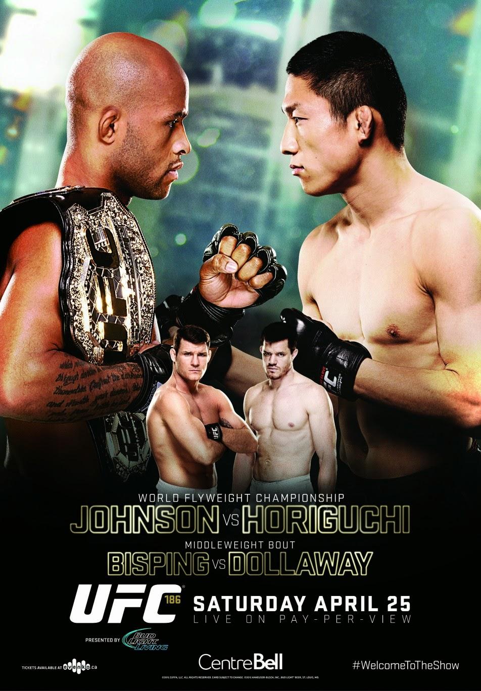 UFC Demetrious Johnson Kyoji Horiguchi fight