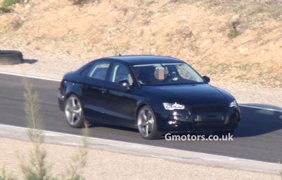 Audi A3 Sedan 2013/2014: Elle se montre enfin (Spyshots)