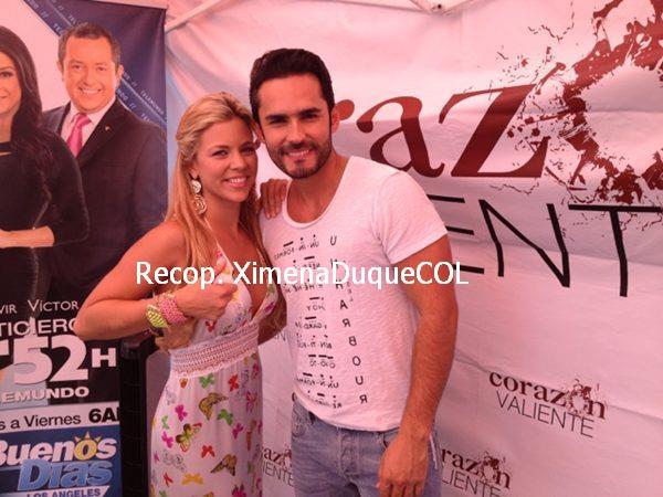 Fabian Rios Y Ximena Duque Romance