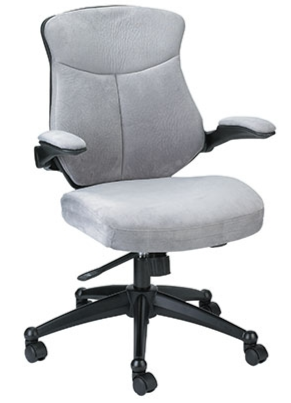 Gray Microsuede Chair by Eurotech