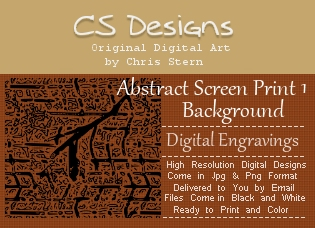 Abstract digital engravings background digital stamp