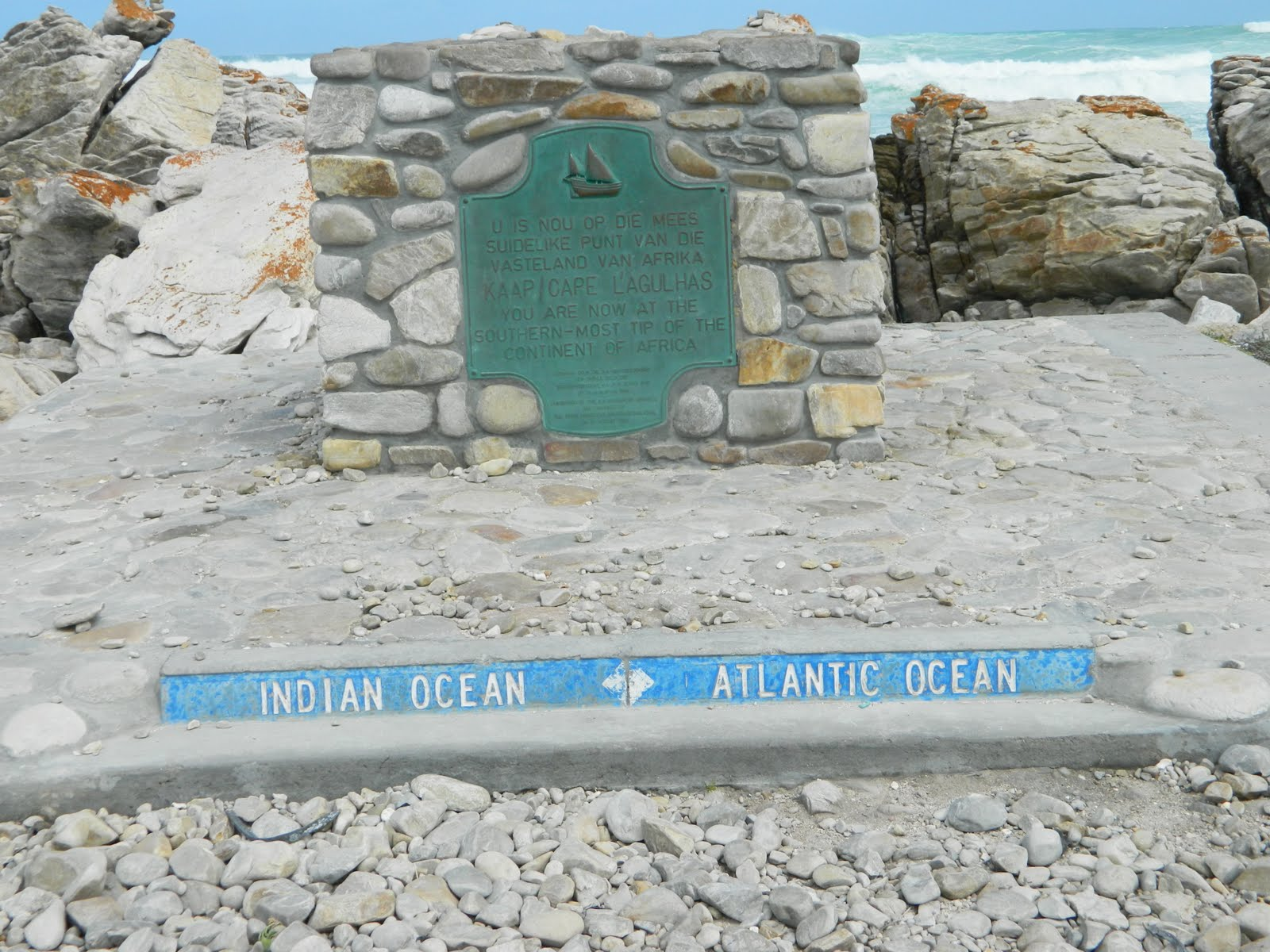 Rencontre entre ocean indien et atlantique
