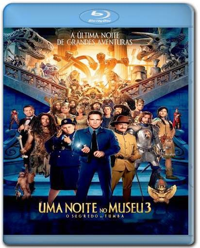 Download Uma Noite no Museu 3 O Segredo da Tumba 720p + 1080p Bluray Dublado + AVI BDRip Dual Áudio Torrent