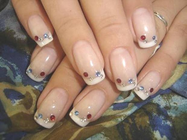 wedding nail arts - design