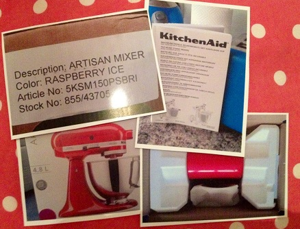 Pictures of KitchenAid, Raspberry Ice