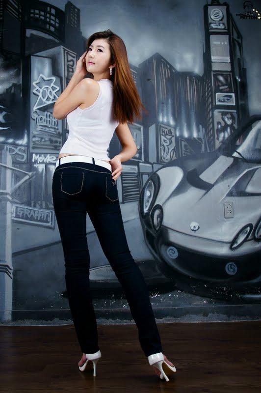 Korean Model Lee Chae Eun