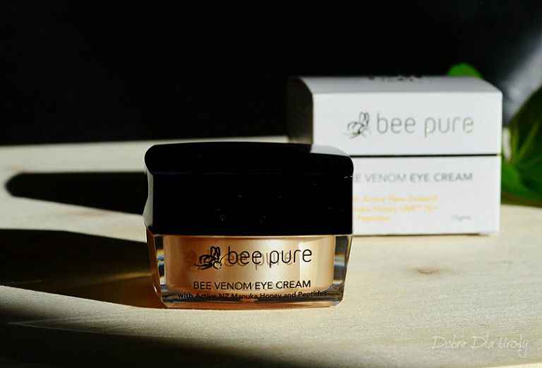 Bee Venom Eye Cream Krem pod oczy z jadem pszczelim z miodem manuka UMF20+ i peptydami
