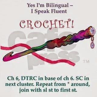 crochet hook poster