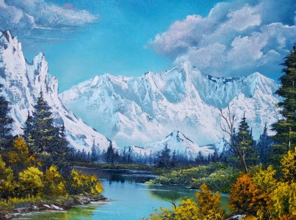 paisajes-con-montañas-pintados-al-oleo