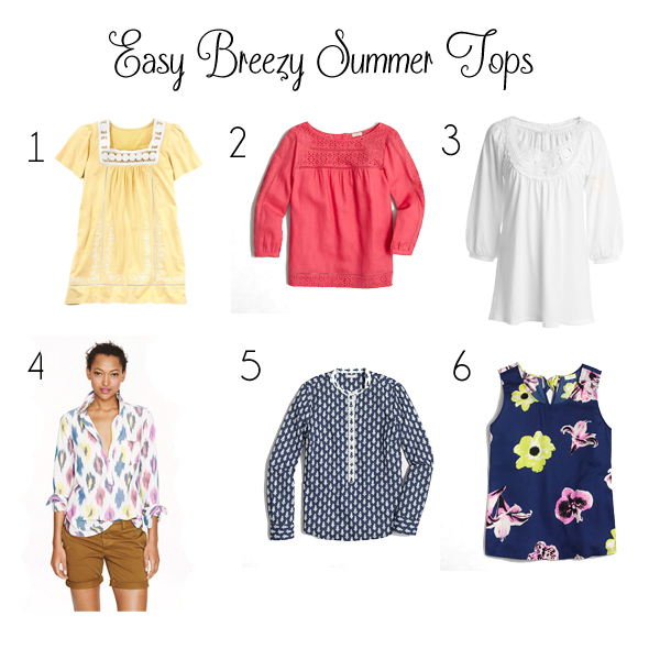 Dainty And Decadent Easy Breezy Summer Tops With Plus Size Options