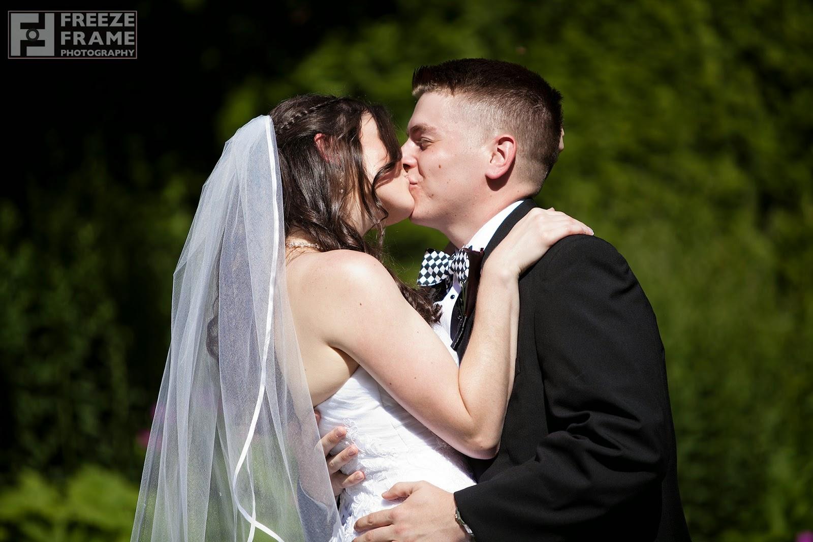High road house wedding
