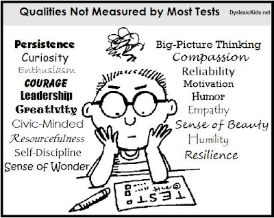 Qualities not measured by most tests