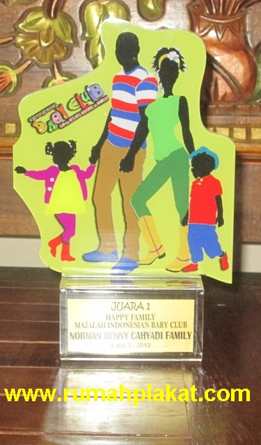 Bentuk Acara Lomba Bayi, Hadiah Event Perkumpulan Bayi, Ukuran Desain Piala Baby Photocontest