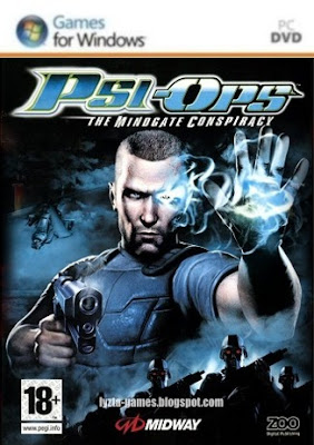 Psi-Ops: The Mindgate Conspiracy PC Cover