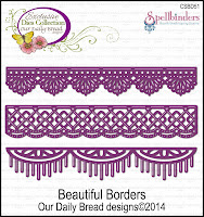 ODBD Custom Beautiful Borders Die Set