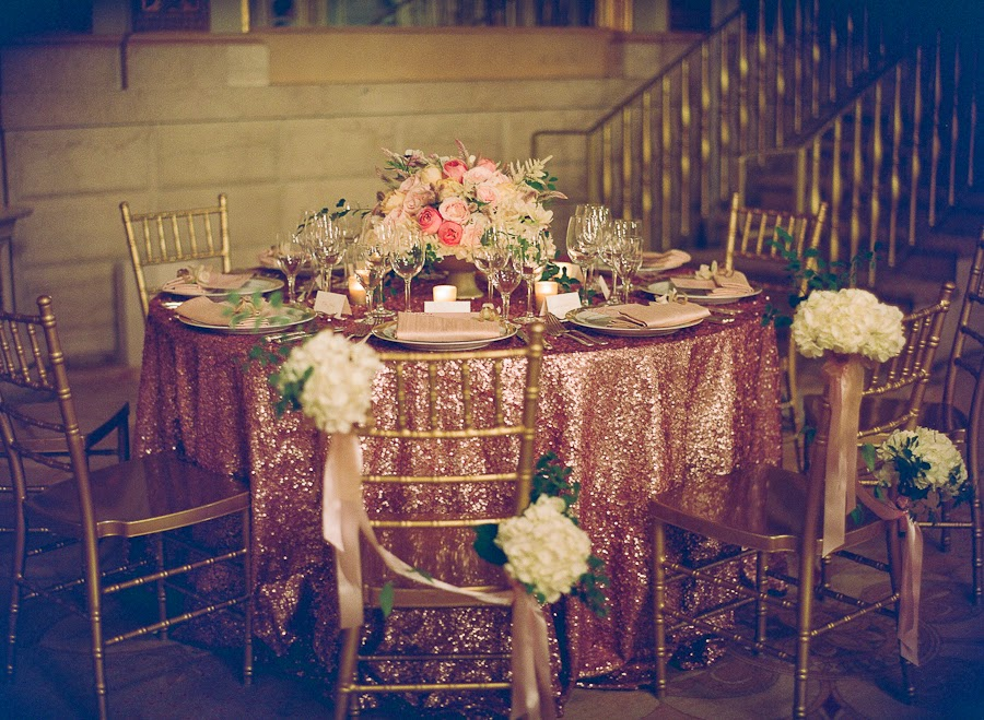 The Plaza Hotel NYC Wedding Centerpiece Arrangement
