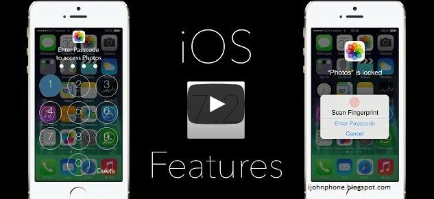 Concepto para iOS 7.2