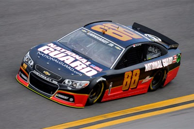 NASCAR Driver Dale Earnhardt Jr. - Testing at Daytona