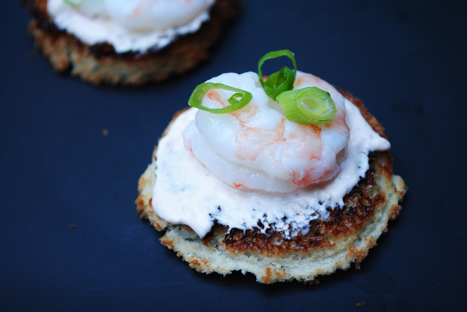 An evening with boardwalk empire shrimp and horseradish for Canape appetizer