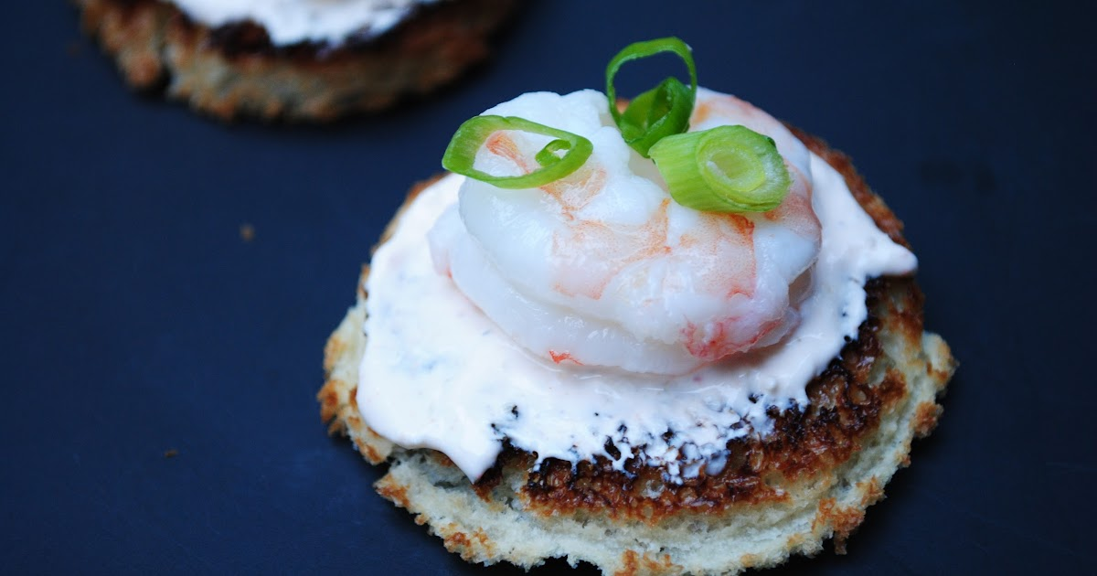 An evening with boardwalk empire shrimp and horseradish for Some canape picks