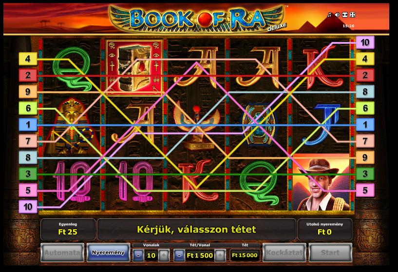 book of ra online jatekok