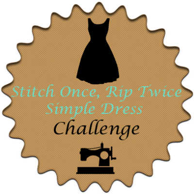 Simple Dress Challenge Announcement on Diane's Vintage Zest!