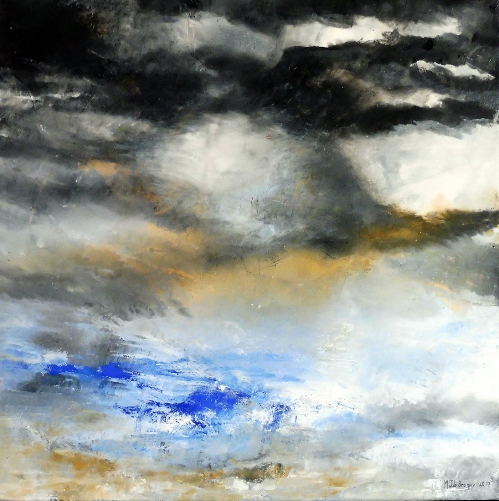 Orage - 80 x 80 cm - 2017