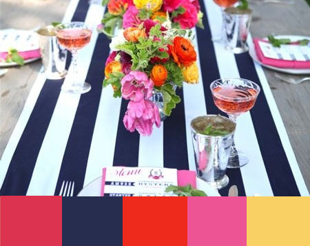 Party color inspiration. So many pretty color ideas. entirelyeventfulday.com