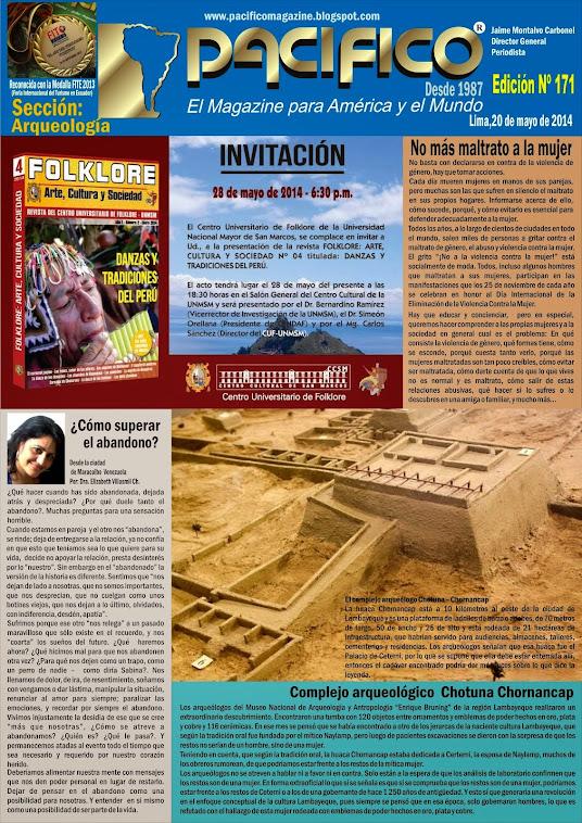Revista Pacífico Nº 171 Arqueología