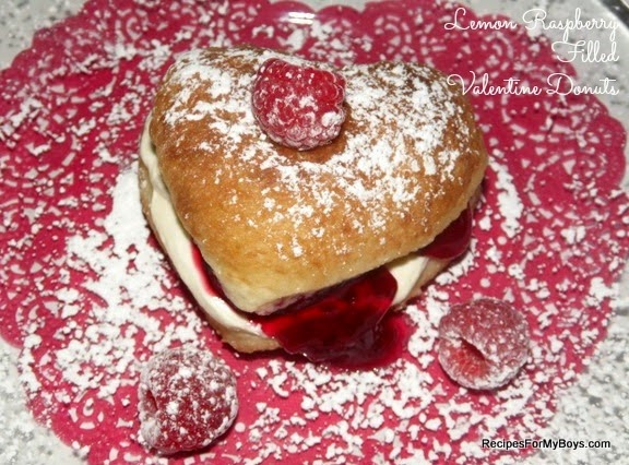get out your rhodes white dinner rolls to make these filled donuts for valentines day or any day you are feeling like sharing something special