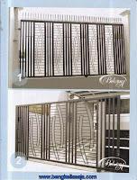 pagar besi rumah modern minimalis