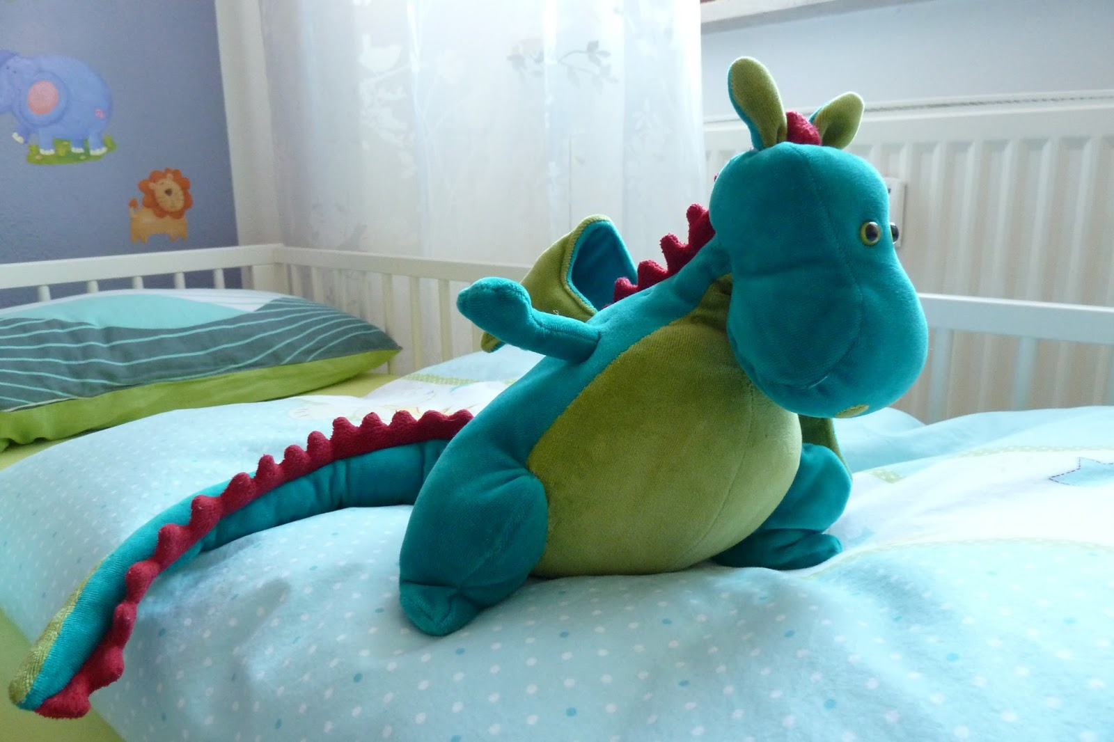 Attractive Drachen Muster Nähen Image Collection - Decke Stricken ...