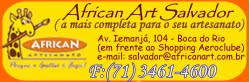 Ministro aulas na AFRICAN ART SALVADOR