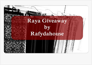 Raya Giveaway by Rafydahouse
