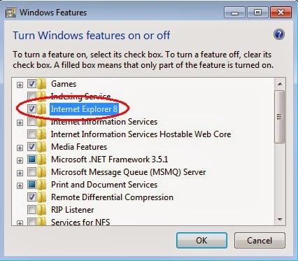 how to uninstall internet explorer