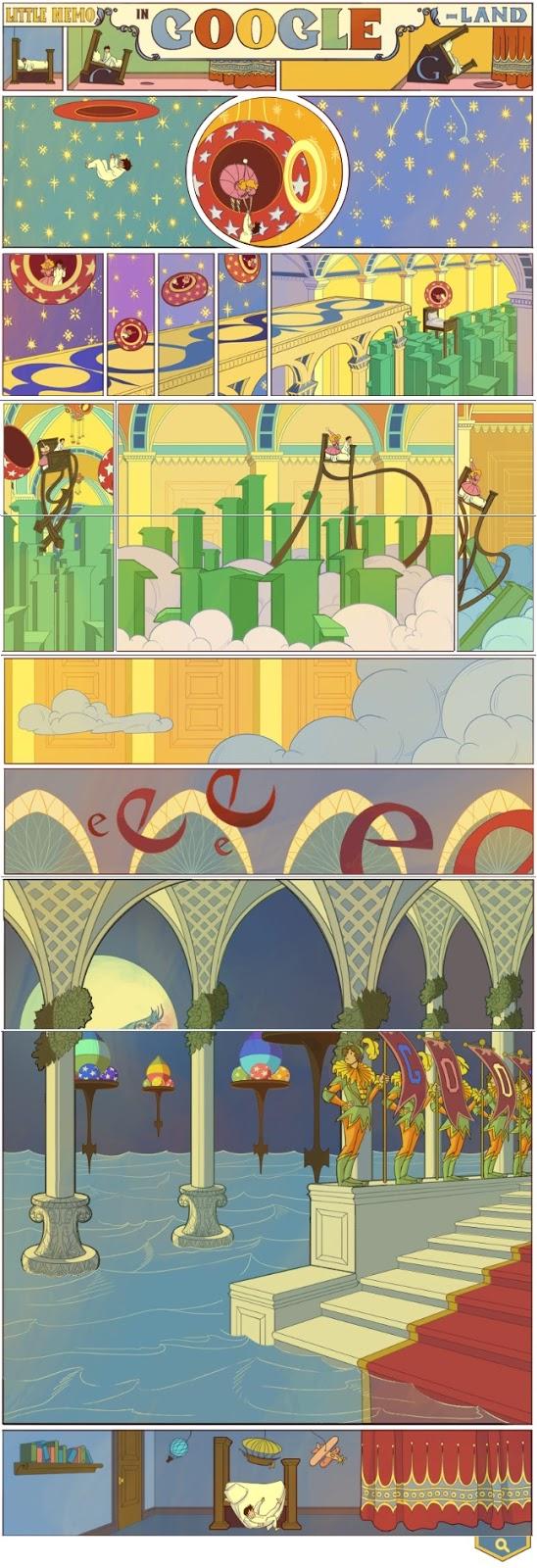 Winsor Zenic McCay - Nemo Google doodle