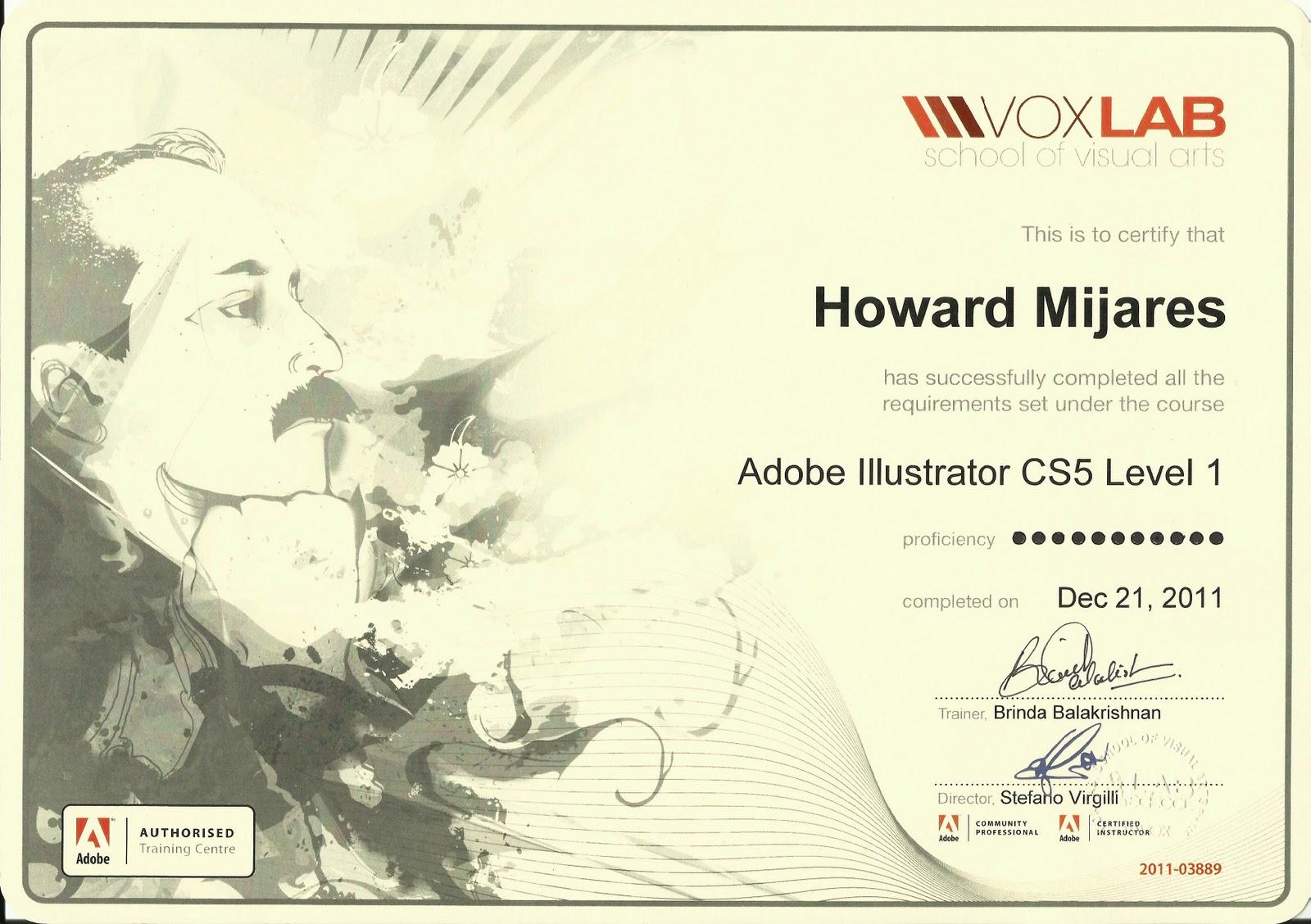 Concept Art Design Adobe Illustrator Cs5 Professional Certificate